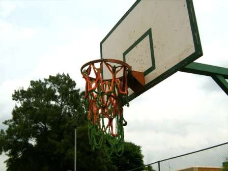 Crocheted Basketball Nets