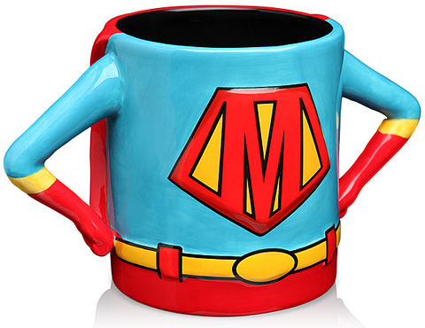 Superhero Mom Mugs