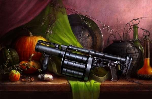 Beautified Weapon Art