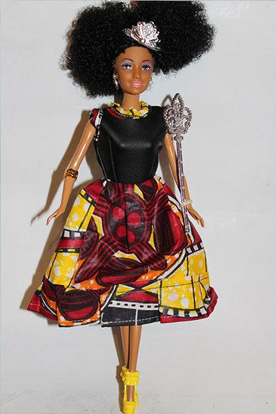 African Fashion Dolls Momppy Mpoppy