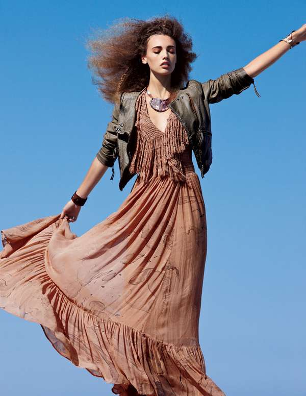 Mona Johannesson for Free People December 2011