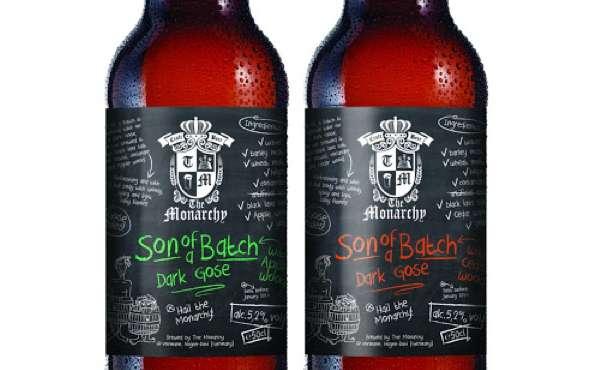 Chalkboard Booze Branding