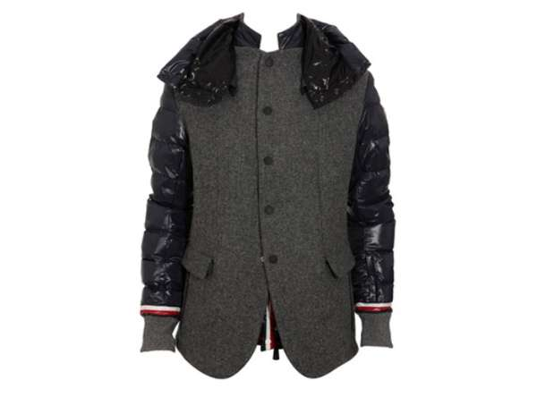 Moncler grenoble tweed jacket