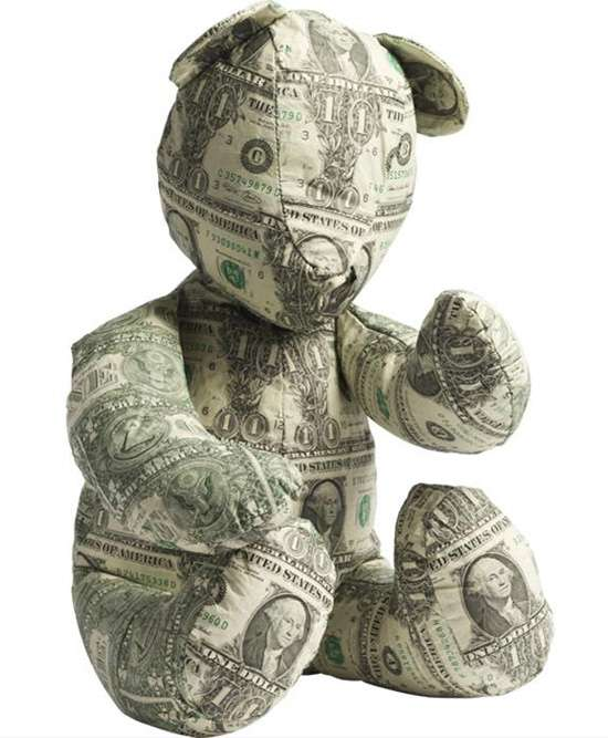 Money Sculptures by Johnny Swing