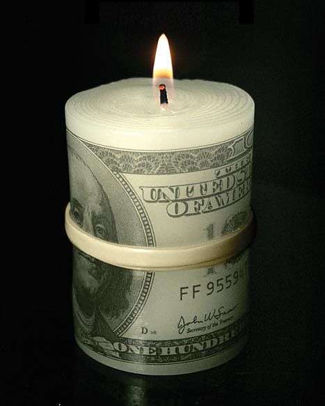 Bundled Cash Candles