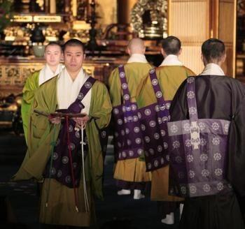 Monks on the Catwalk