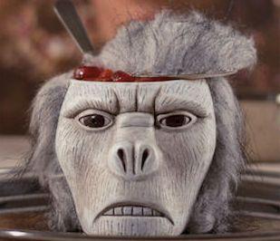 Creepy Primate Decor