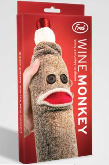 Monkey Wine Sock