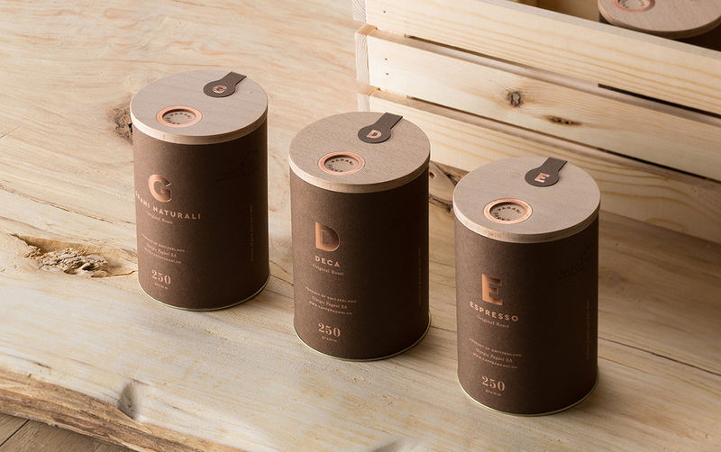 Decadent Coffee Branding