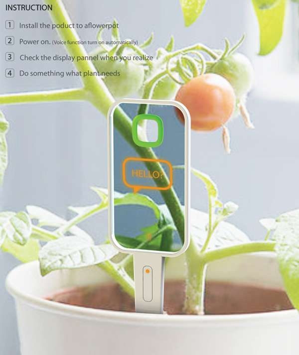 Health Monitoring Garden Gadgets Monologue Plant Monitor