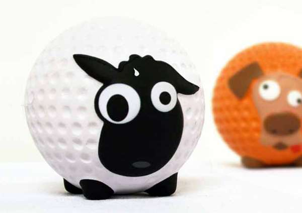 Golf Ball Creatures