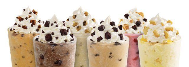 Cookie-Themed Milkshakes