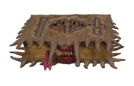Monster Book of Monsters Keep Safe