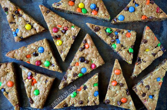 Technicolored Cookie Desserts