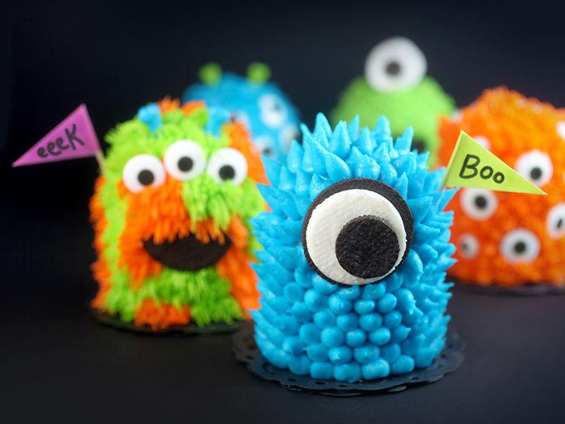 Chocolaty Monster Cupcakes