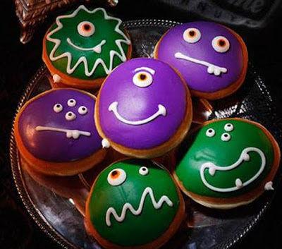 Monstrous Halloween Donuts