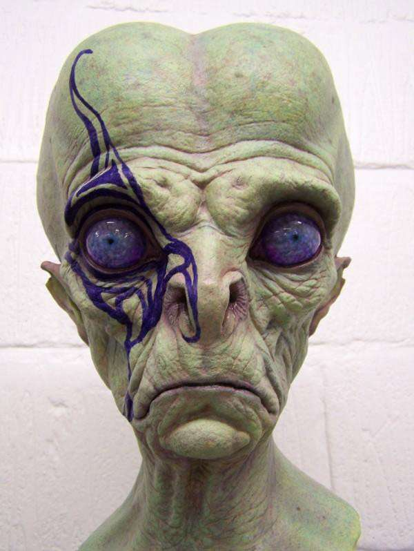 Realistic Alien Art Monster Sculptures By Jordu Schell