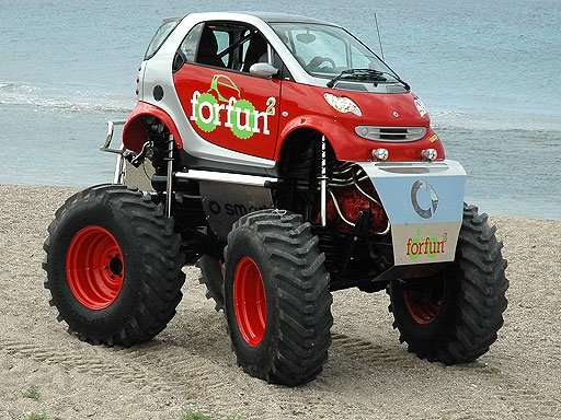 Monster Smart Car