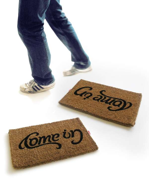 Mood-Affecting Welcome Mats