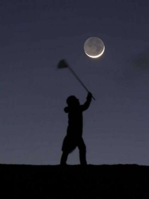 Moon Catching Photography