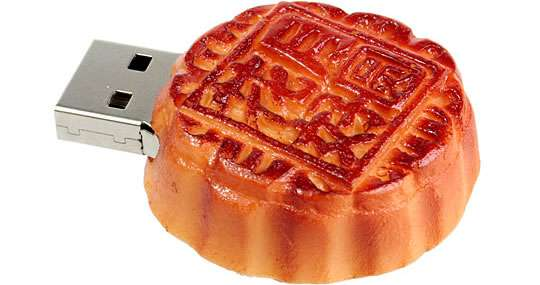Fake Food Flash Drives