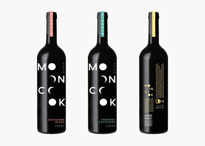 Lunar-Inspired Wine Packaging