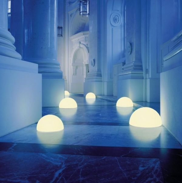 Spherical Moon Lamps