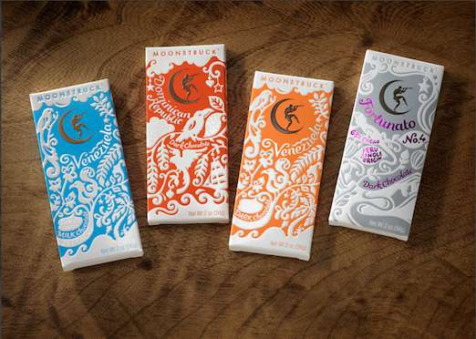 Embossed Chocolate Packaging