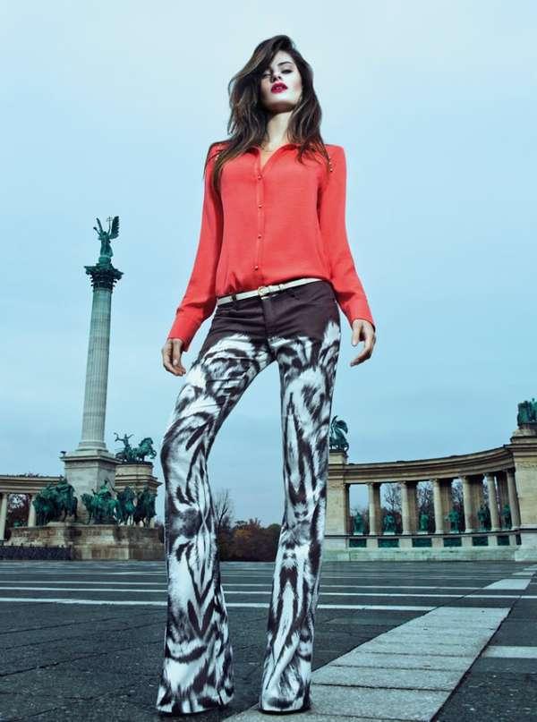 Print-Loving Urban Fashion
