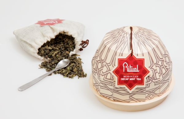 Mosque-Shaped Tea Branding