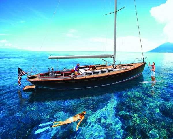 Glitzy Paddleboard-Inclusive Yachts