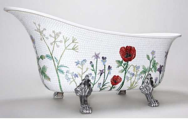 Mosaic Bathtub