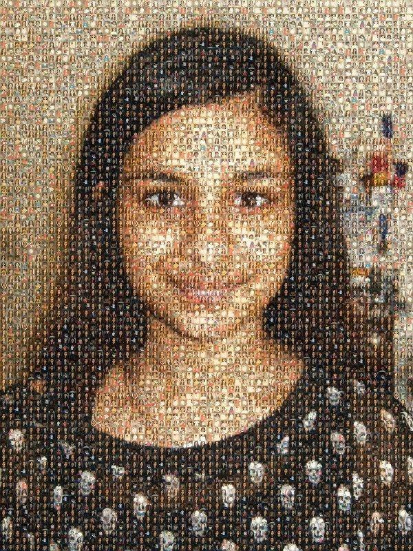 Juvenescent Mosaic Portraits