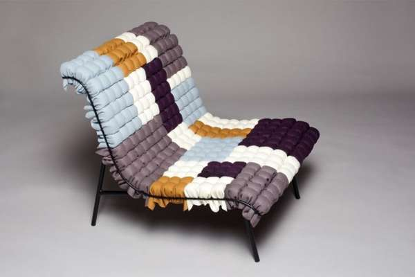 Cubic Patchwork Chairs