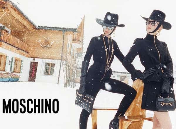 Snowy Zorro-Inspired Ads