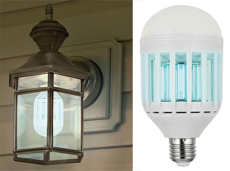 Bug Zapper Bulbs >> Bug-Zapping LED Bulbs : mosquito killer