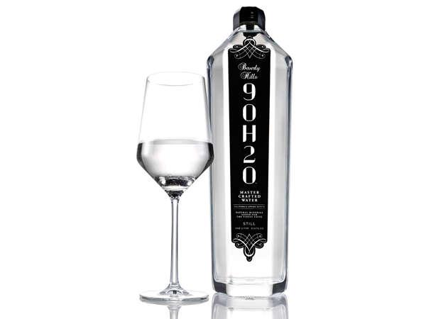 Luxurious Wine-Inspired Water