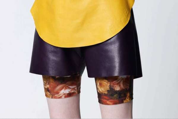 Floral Bike Shorts