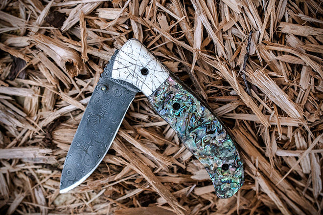 Technicolor Abalone Knives
