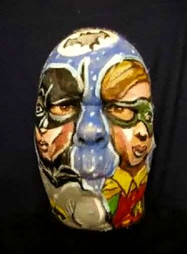 Superhero Motion Face Paint