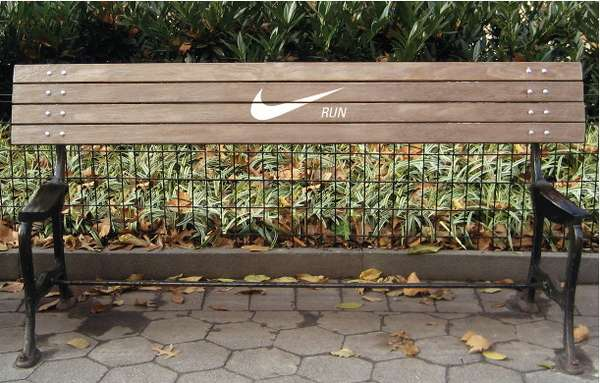 Motivational Nike Bench
