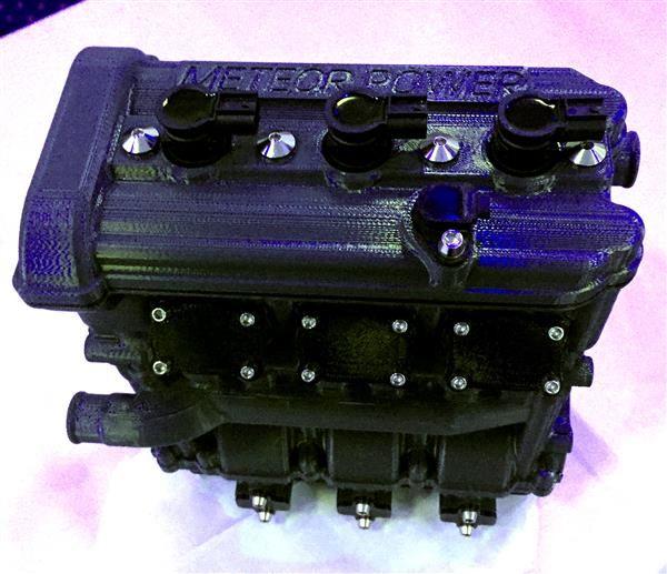 3D-Printed Motorcycle Engines
