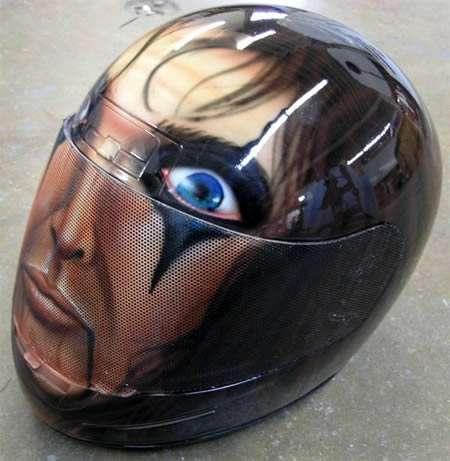 Fantasy Face Helmets