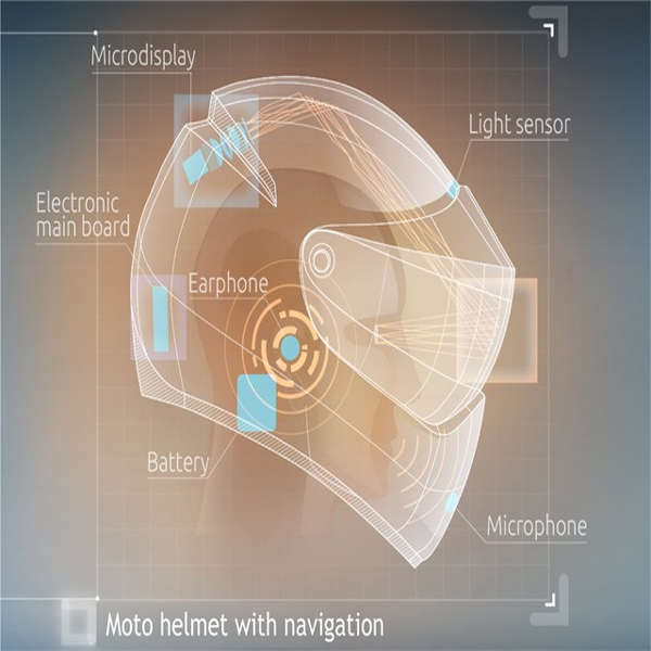 Motorcycle Helmet Navigation Systems