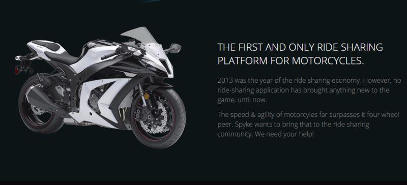 Motorcycle Ride Sharing Platforms