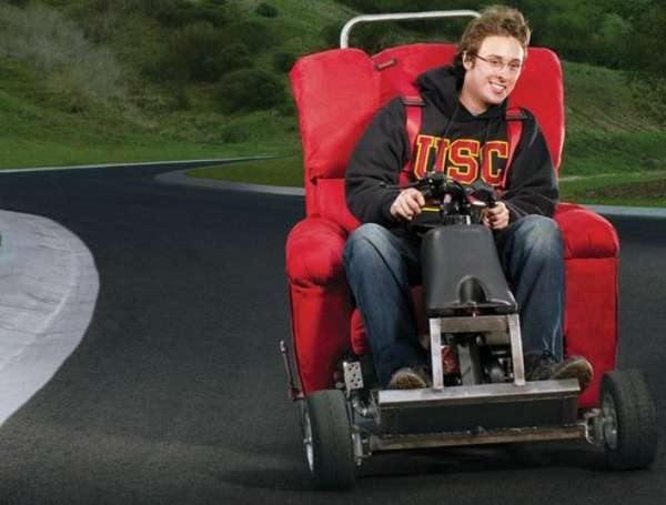 Gas Powered Recliners Motorized La Z Boy