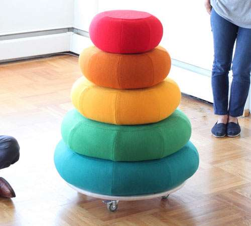 Colorful Mountainous Cushions