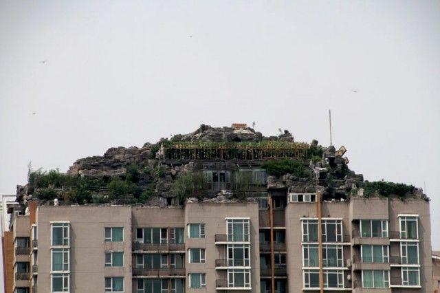 Mountain Top Buildings