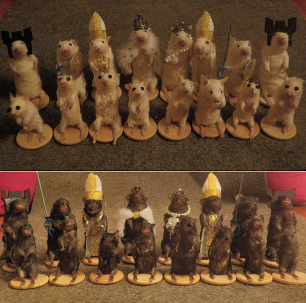 Morbid Mouse Chess Sets