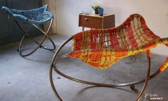 Colorful Upcycled Seating